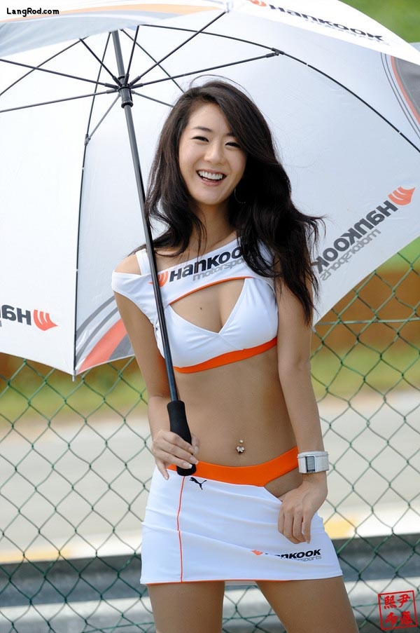 Cute Korea girl model.