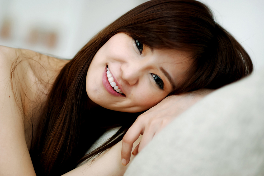 So cute smile asian lady, she so beautiful page - Milmon ...