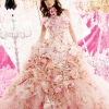 So beautiful lady with the pink wedding uniform