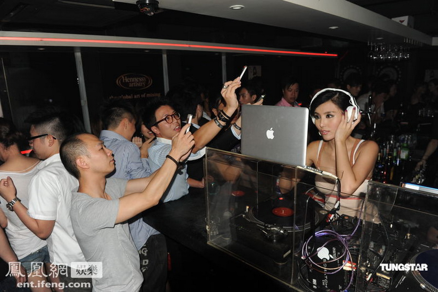 Xu Ying Lu Hong Kong DJ with Sexy dress