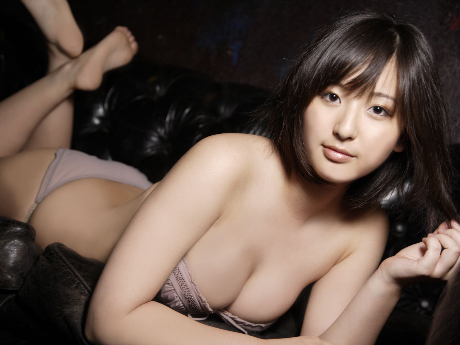 Yuri Murakami Japanese lady Beauty White Booty 13
