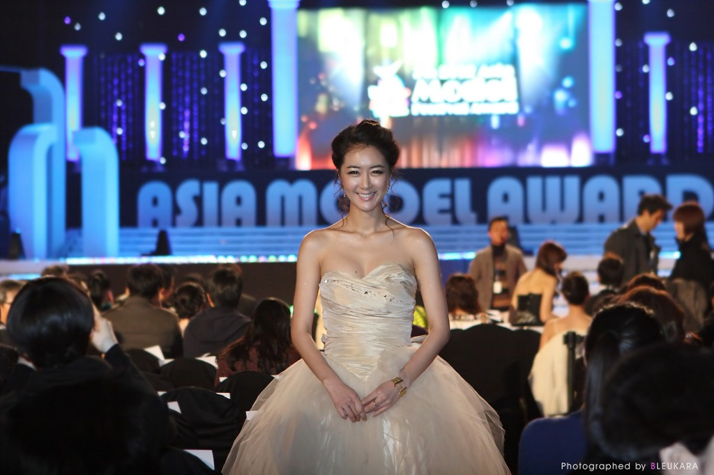 Jung Joo Mi Korean Super Model at Asian Model Awards 2012