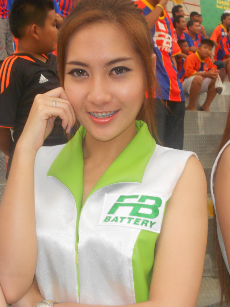 Pretty Thailand Football FC lady so Sexy and Beautiful