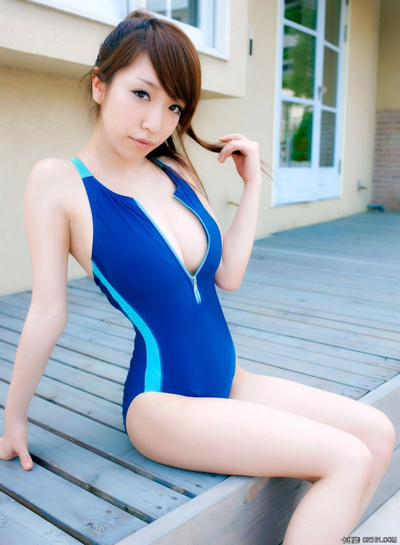 Nude Asian girl swimsuit