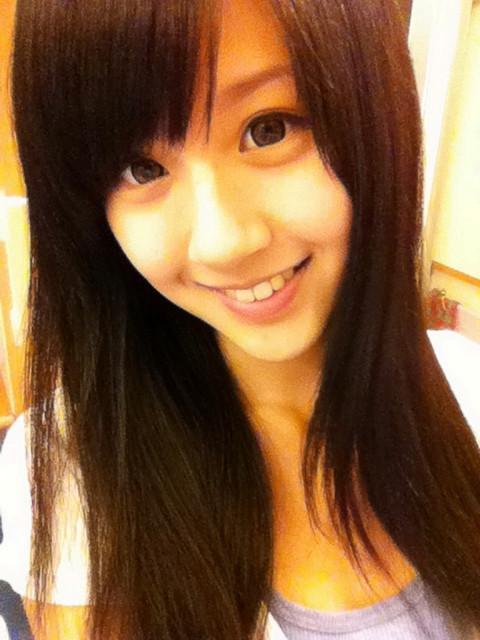 Taiwan Girl with big eyes, so Cute