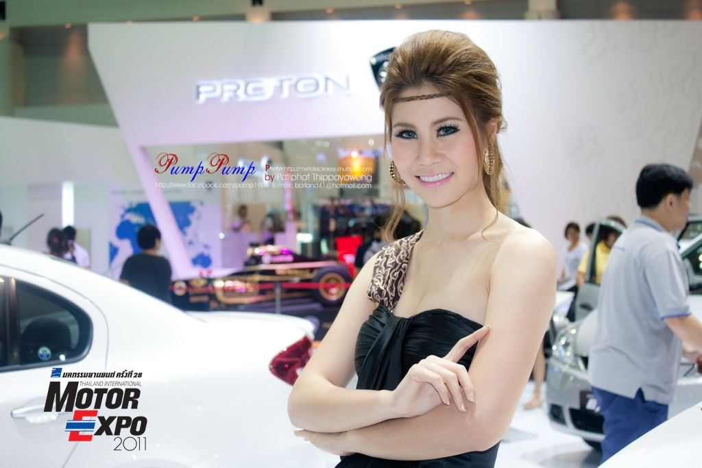 Asian Sexy Pretty Motor Expo 2011 in Thailand